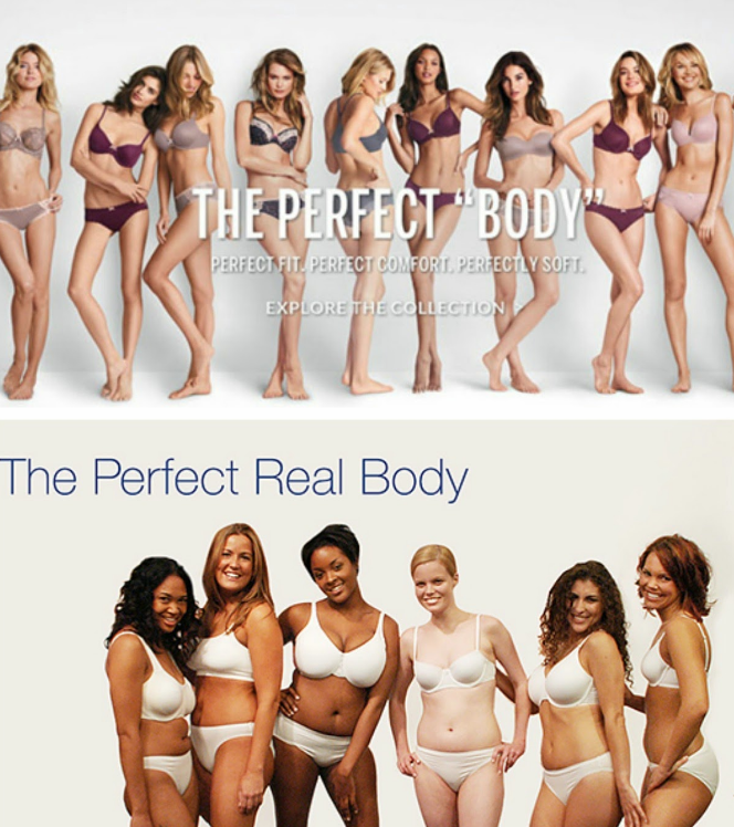 ideal to real what the perfect body really looks like - HD1339×1396